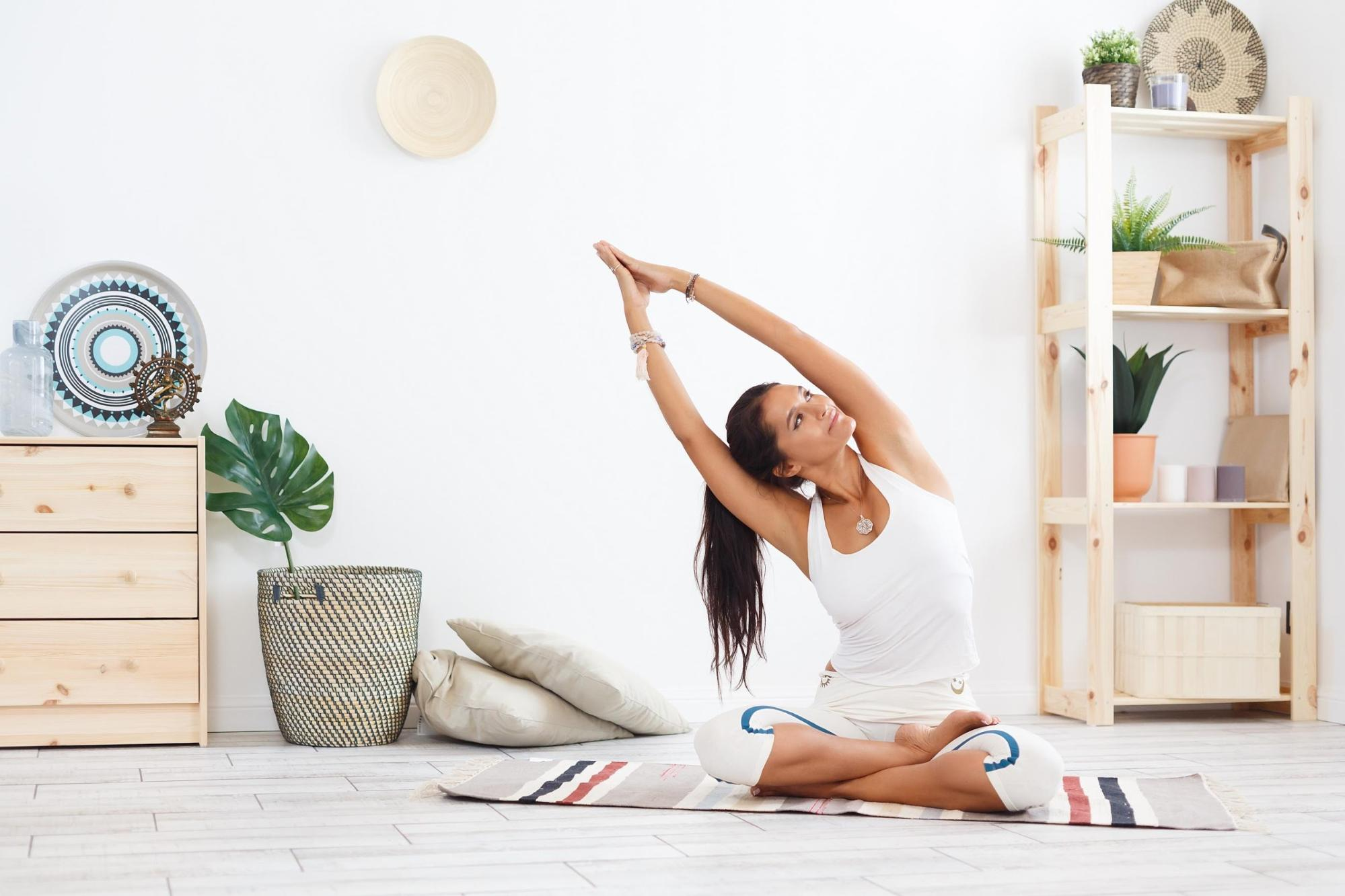 5 Ways to Start A Home Yoga Practice | Inspired Entertainment