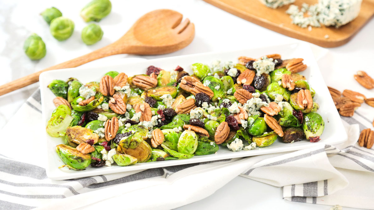 Brussels-Sprouts-Cranberries-Pecans-Blue-Cheese_16x9_The-Domestic-Geek