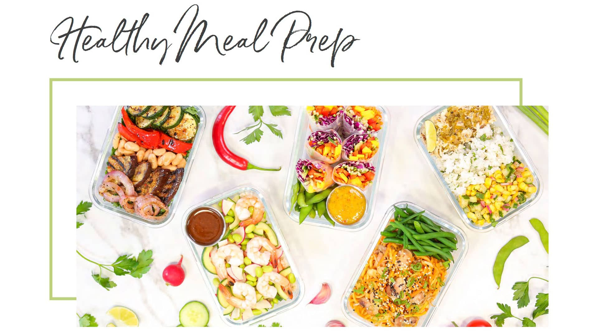 Healthy Meal Prep Download Cover